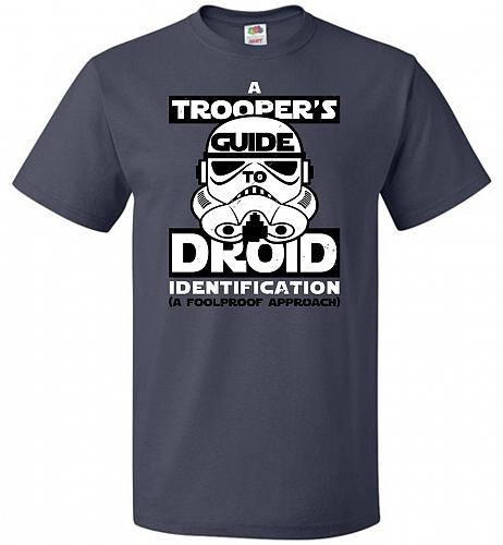 A Trooper's GuideTo Droid Identification Unisex T-Shirt Pop Culture Graphic Tee (5XL/