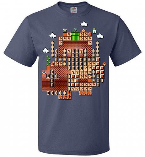 Legend Maker Unisex T-Shirt Pop Culture Graphic Tee (XL/Denim) Humor Funny Nerdy Geek