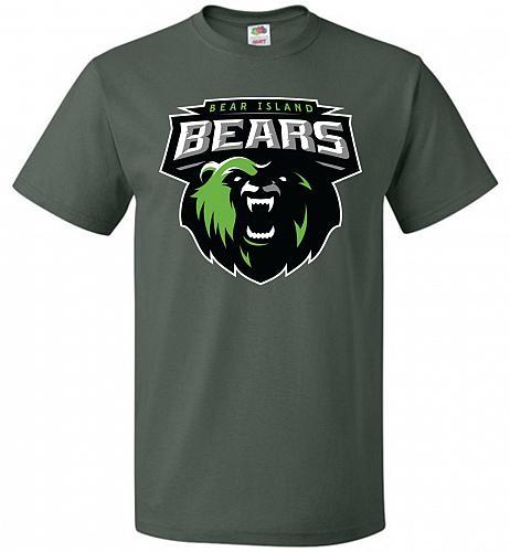 Game of Thrones Inspired Bear Island Bears Sports Parody Adult Unisex T-Shirt Pop Cul