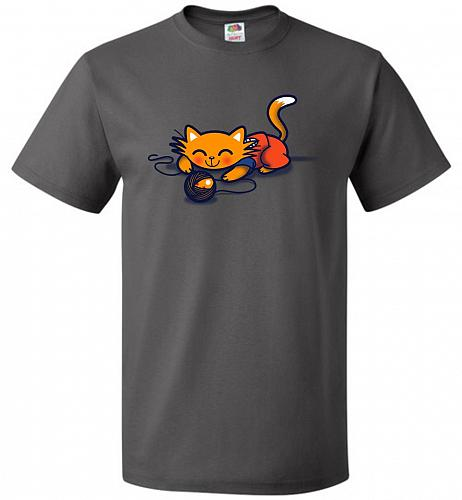 A Surprise Unisex T-Shirt Pop Culture Graphic Tee (5XL/Charcoal Grey) Humor Funny Ner