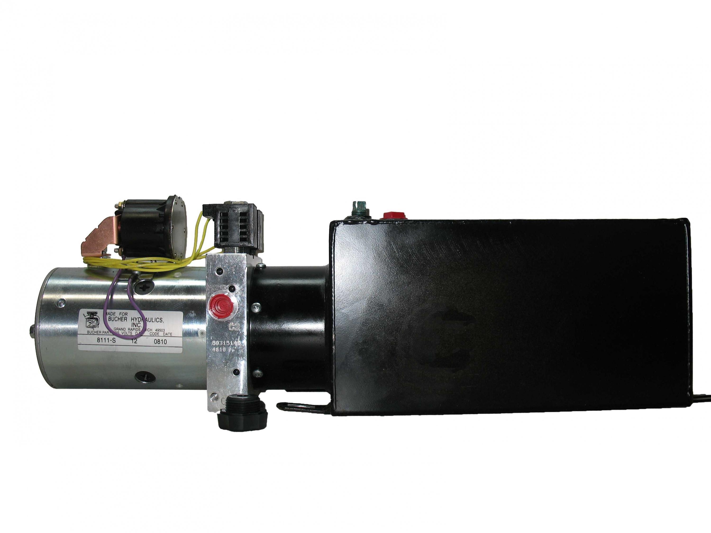 m3551 0456 bucher dyna jack push button unit for dump. Black Bedroom Furniture Sets. Home Design Ideas