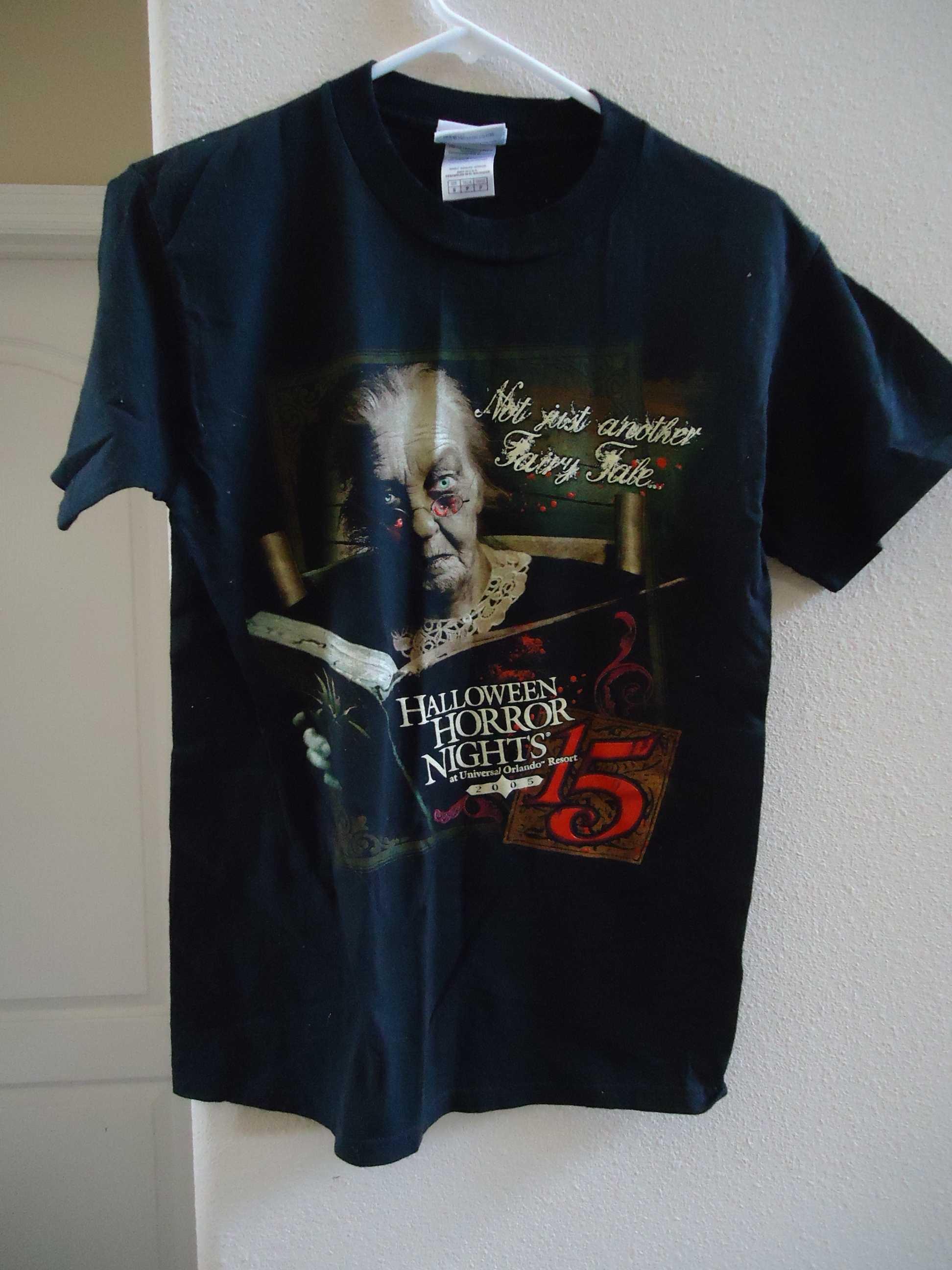 Halloween Horror Nights 2005 Universal Orlando T Shirt For