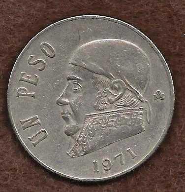 1971 mexican coin