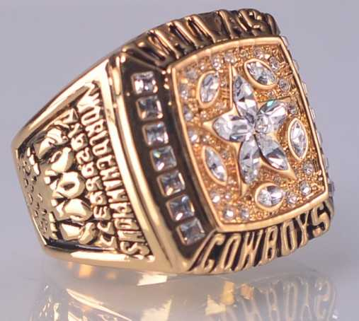 Real Dallas Cowboys Super Bowl Ring For Sale
