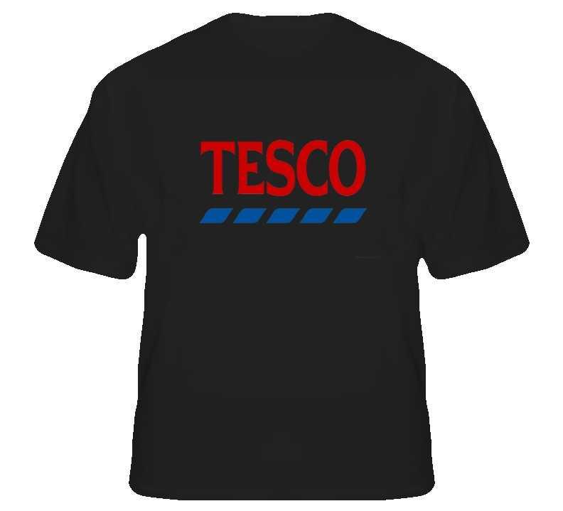Tesco logo custom t shirt s to xl for sale item 256464 for Custom t shirts for sale