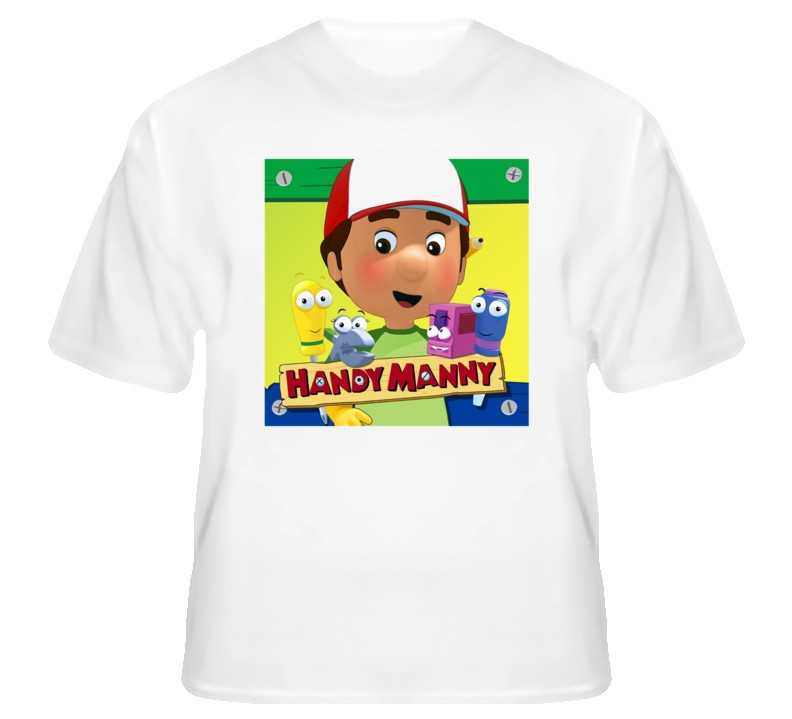 Handy manny poster custom t shirt s to xl for sale item for Custom t shirts for sale