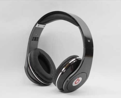 Beats by Dr  Dre Studio Headband Headphones - Black 810-00025 BRAND NEW