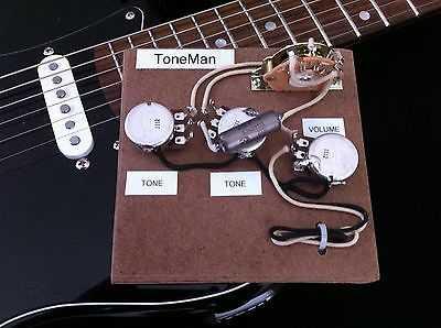 Eric Johnson Stratocaster Upgrade Strat Vintage Wiring Harness - Hand Built