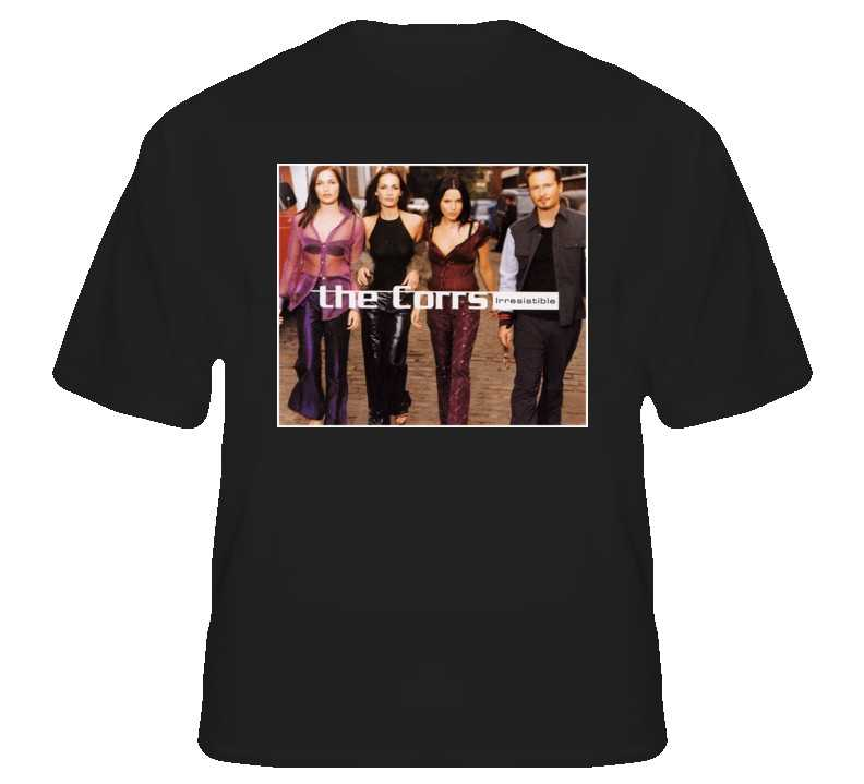 Corrs irresistible custom t shirt s to xl for sale item for Custom t shirts for sale