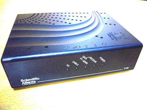 Scientific Atlanta DPC2100 R2 mac CABLE box MODEM USB EtherNet Cisco ...