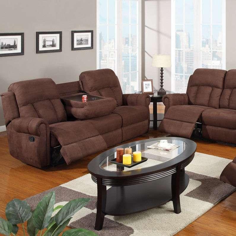 Sofas Loveseats 3 Pc Living Room Set Full Microfiber Reclining Sofa Loveseat For Sale Item