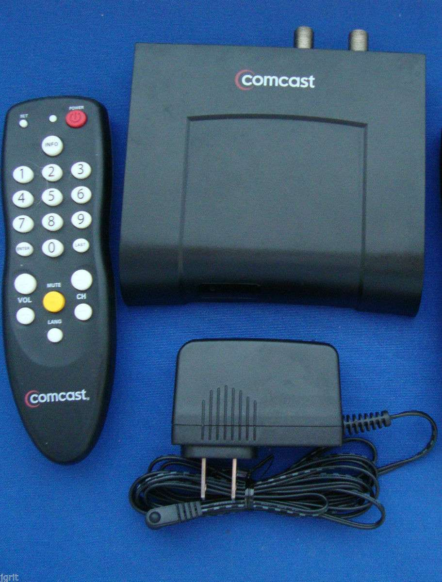 Comcast DC50X Receiver TV cable box digital transport adapter DTA  television MAC