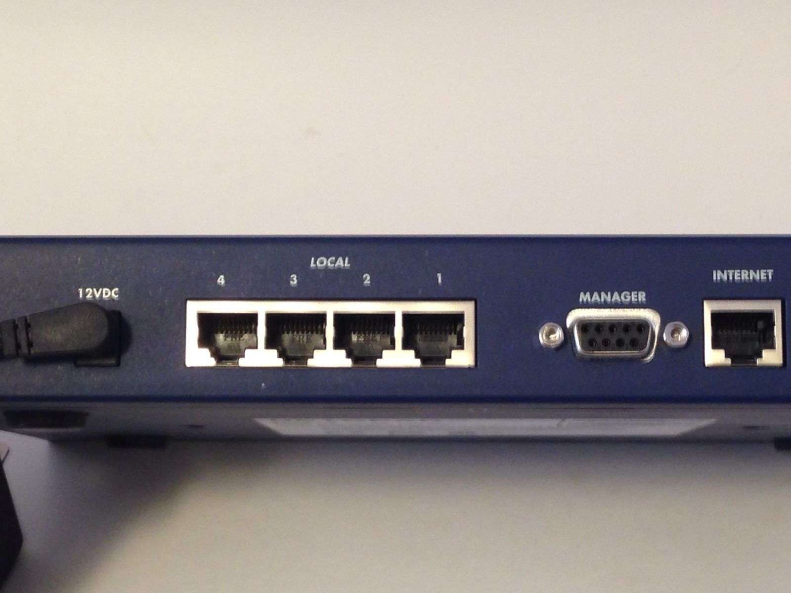 RT314 NETGEAR internet Gateway router modem switch 10/100 hub wired ...
