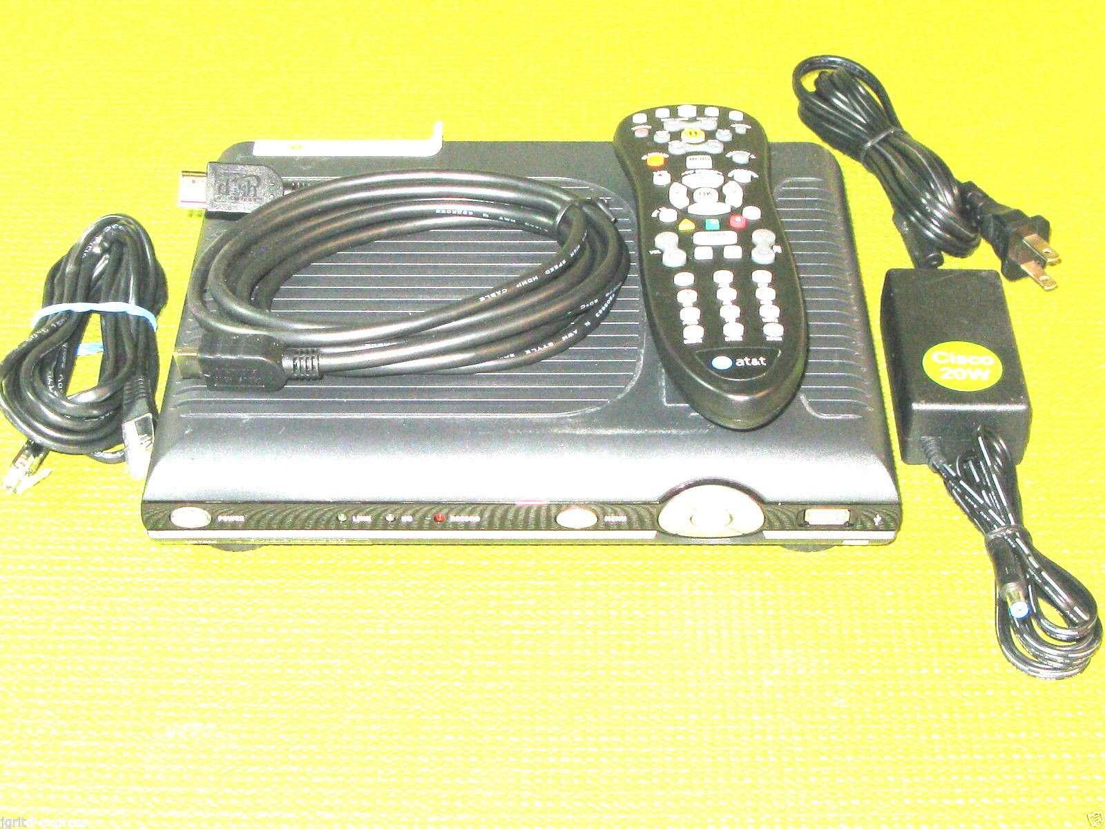 AT&T ISB 7005 U verse HDMI USB Cisco receiver TV internet WIFI cable att  ISB7005