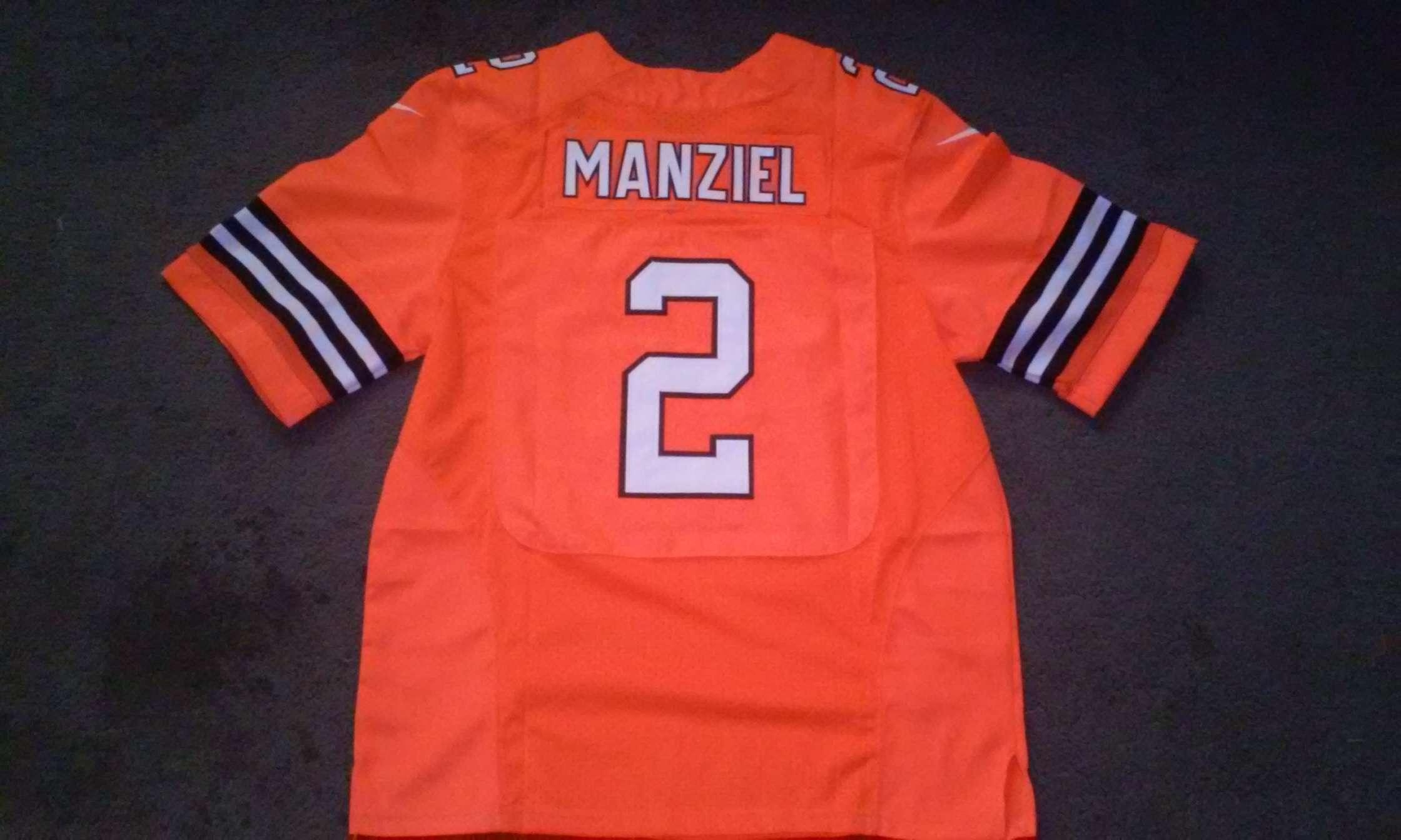 0f7966b0 Johnny Manziel Cleveland Browns Nike elite jersey size 44- NWT