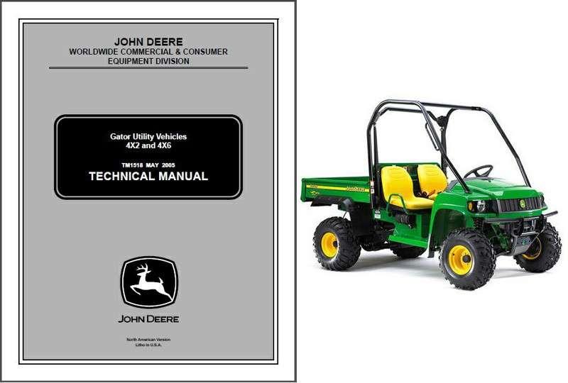 john deere gator utility vehicle 4x2 4x6 utv service repair manual rh unisquare com john deere gator tx 4x2 service manual john deere gator ts 4x2 manual