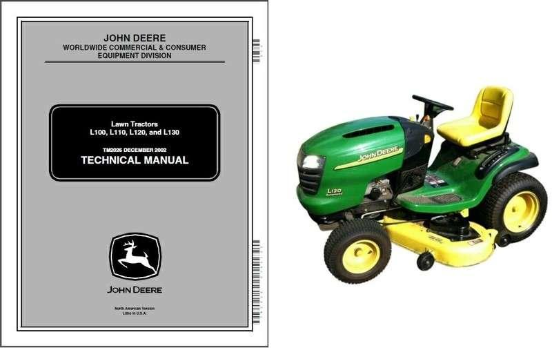 John Deere L110 Lawn Garden Tractor Service Repair Manual Manual Guide
