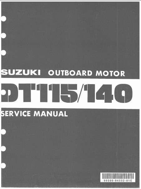 81 85 suzuki dt115 dt140 2 stroke outboard motor service repair rh unisquare com Small Outboard Motors Suzuki 6 HP Outboard