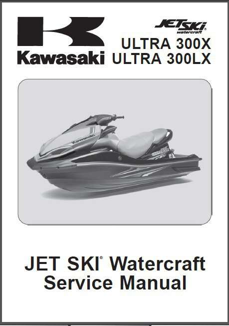 Kawasaki Ultra 300x 300lx Jet Ski Service Repair Manual Cd Jetski Ultra300 X Lx For Sale