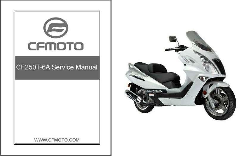 Cf moto X6 service manual
