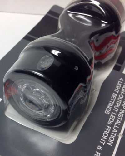 Bell Pharos 550 LED Bicycle Head/Tail Light Set - Increased Visibility - NEW