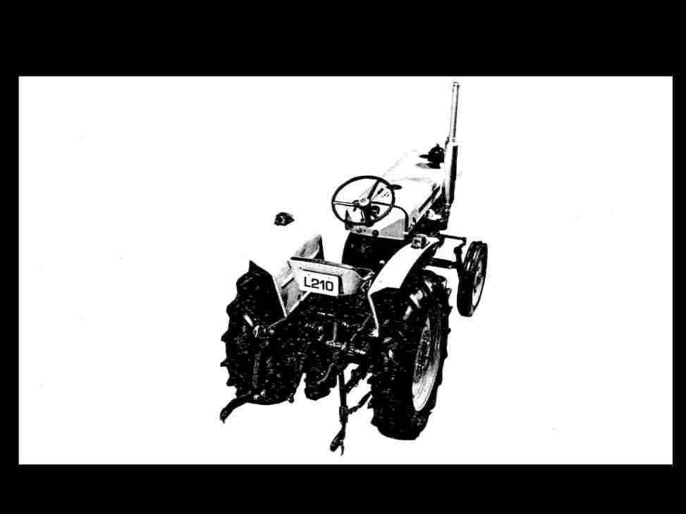 kubota l210 l 210 service parts manuals 260pg for tractor overhaul rh unisquare com