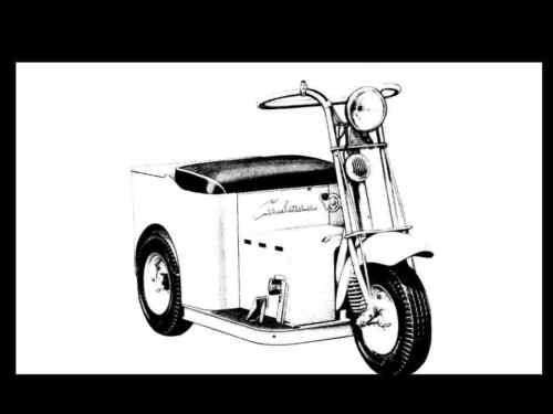 CUSHMAN MINUTE MISER ELECTRIC CART & SCOOTER MANUALs 95pg Operations ...