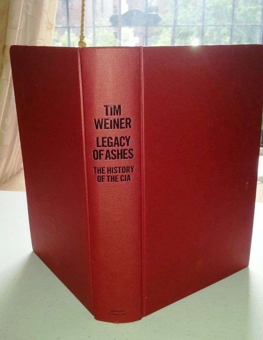 legacy of ashes weiner tim