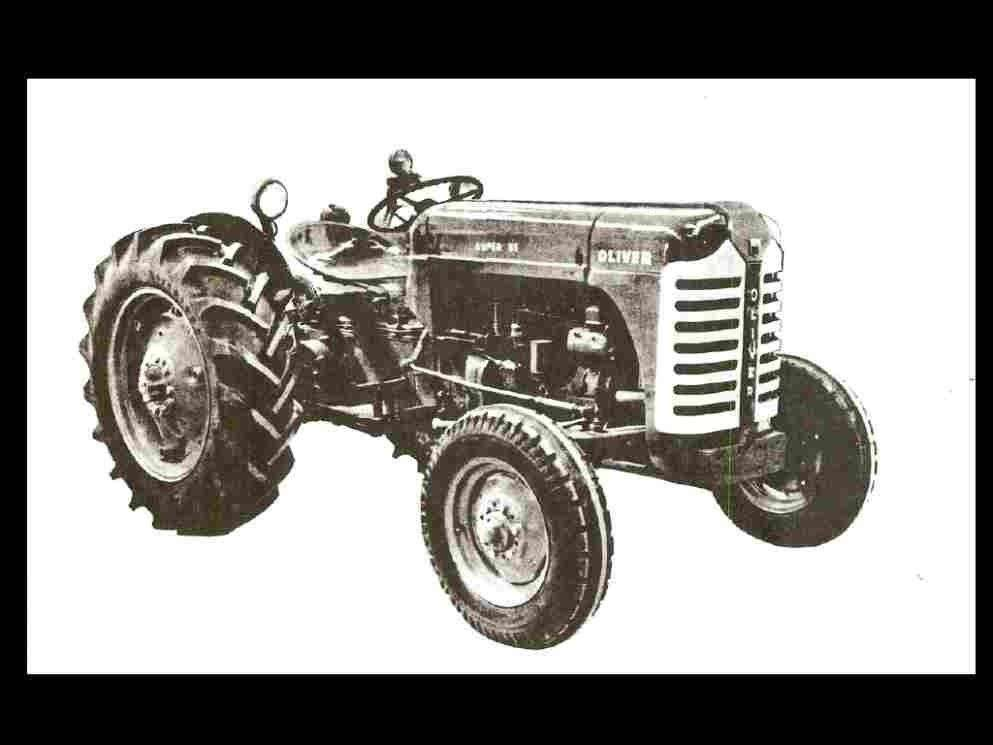 oliver super 55 operations manual for tractor maintenance tuning rh unisquare com Oliver with 6 5 Diesel Oliver 2055 Tractor