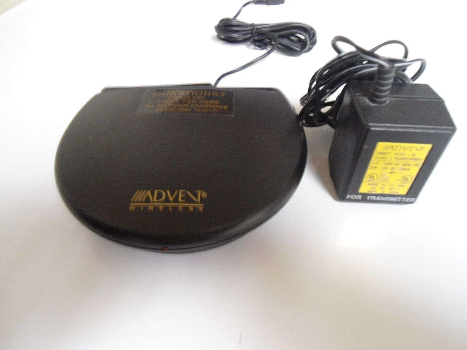 Advent Recoton 900 MHz Transmitter LLP 110 A Wireless Headphones Speakers LLP11A For Sale