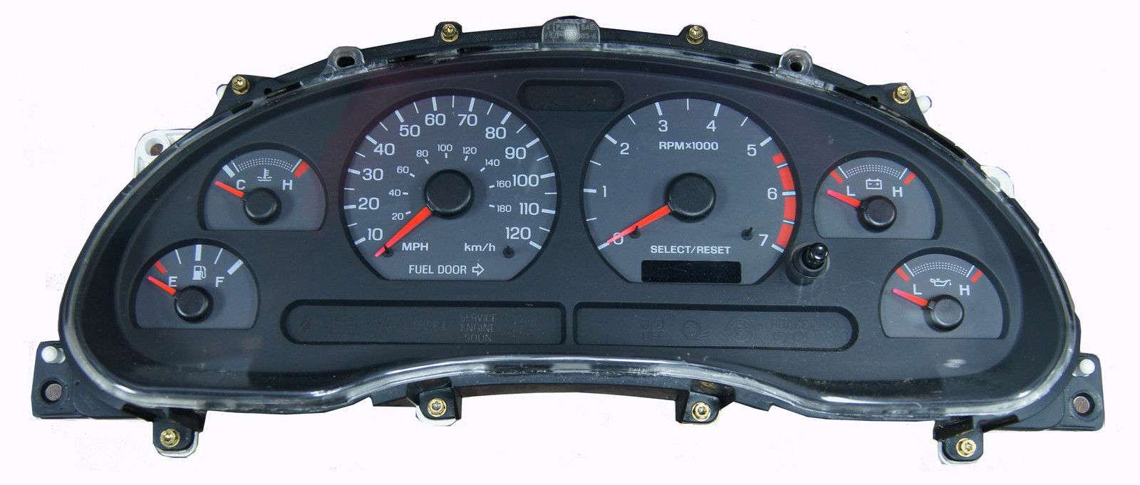 99 00 01 02 03 04 Ford Mustang Instrument Cluster Trip Odometer Repair Service For Sale
