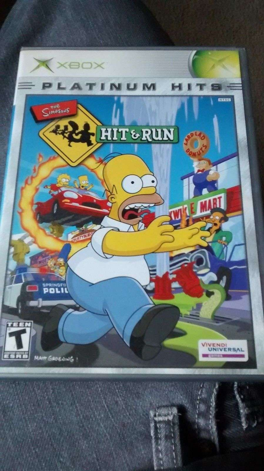 the simpsons hit and run xbox 2003 for sale item 566303. Black Bedroom Furniture Sets. Home Design Ideas