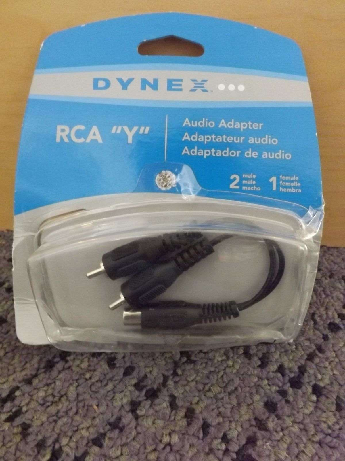 DynexTM - RCA Y Audio Adapter dx-ad115 Auction, For Sale - Item #917964
