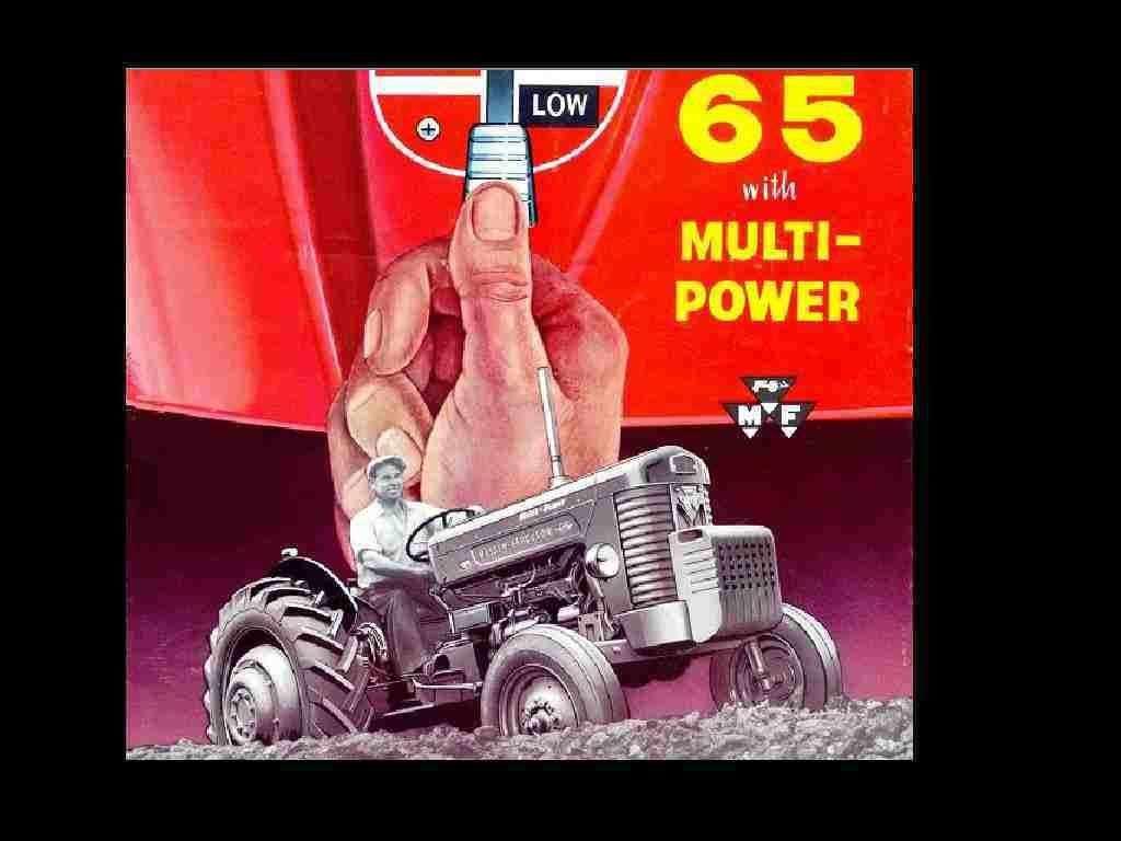 MASSEY FERGUSON MF 65 Gas & Diesel TRACTOR OPERATION MAINTENANCE MANUAL