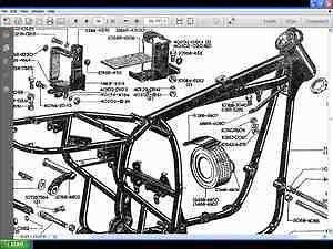 bsa a65 a50 twins parts manual for lightning scrambler. Black Bedroom Furniture Sets. Home Design Ideas