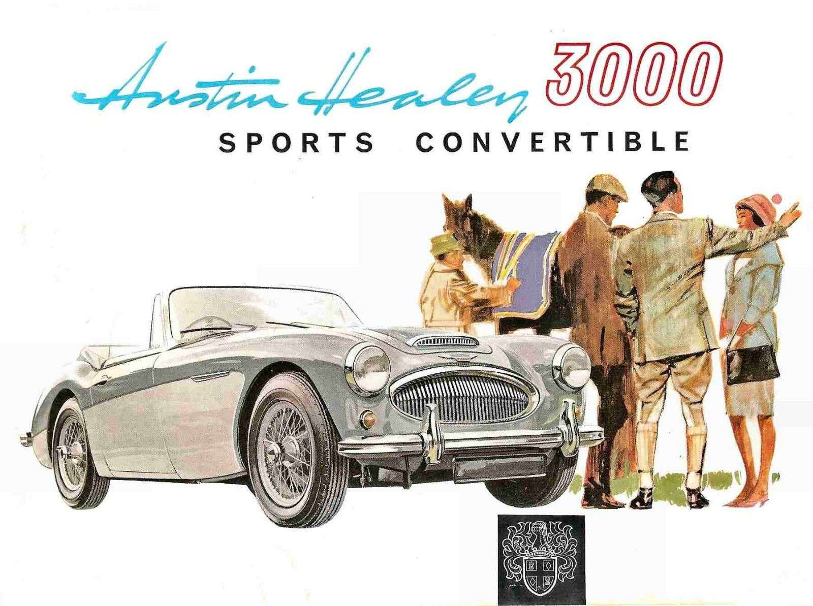 Austin Healey 3000 Parts Manual 375pgs List W Exploded Bj8 Wiring Diagram Detailed Diagrams