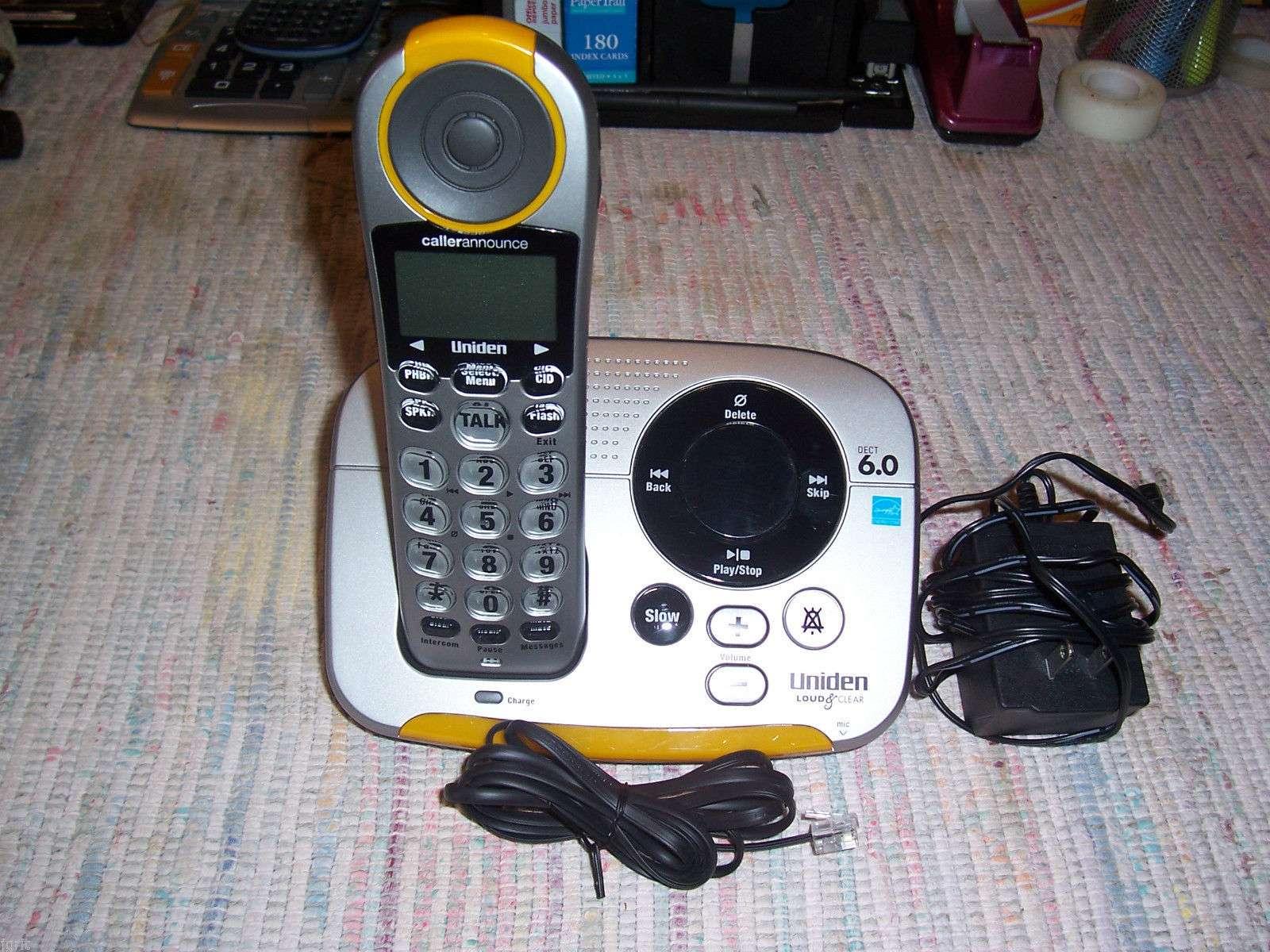 USED GENUINE PANASONIC CORDLESS PHONE CHARGING CRADLE STAND PQLV30001ZA