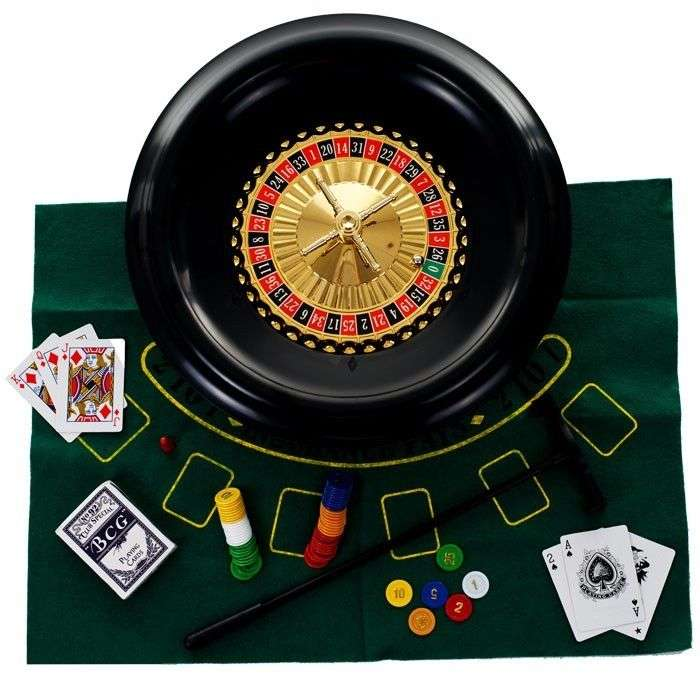 16 inch deluxe roulette set
