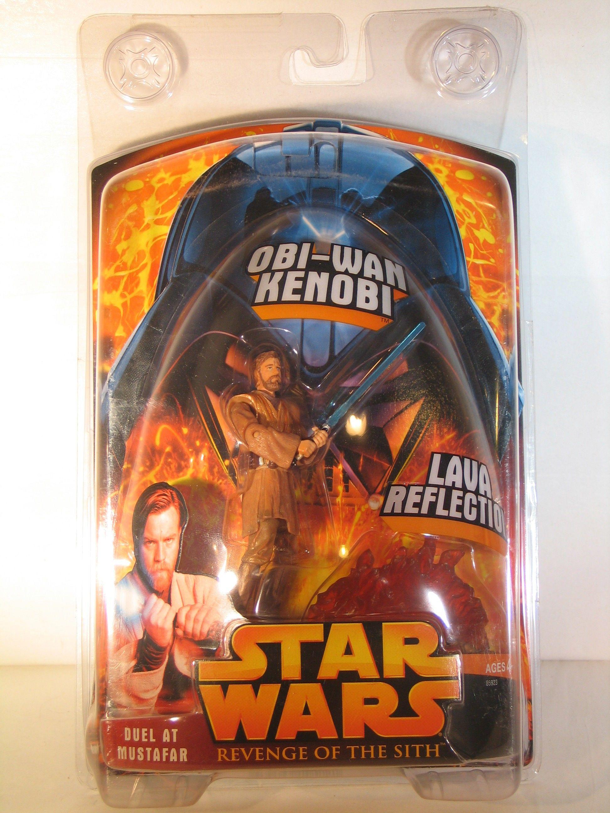 Star Wars Revenge Of The Sith Duel At Mustafar Obi Wan Kenobi For Sale Item 1439280