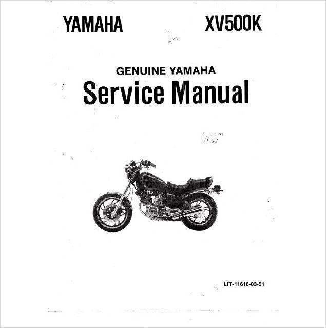1983 1987 yamaha virago xv500 service repair workshop manual cd xv rh unisquare com yamaha xv 125 virago workshop manual 125 Yamaha Virago Bobber