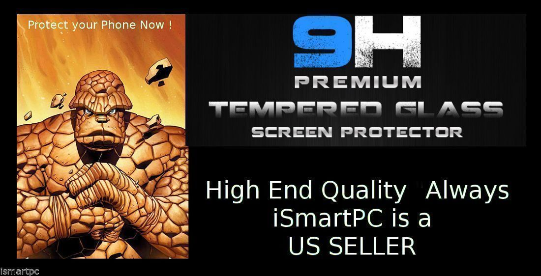 LG NEXUS 5 Tempered Glass Gorilla Screen Protector Crack ...