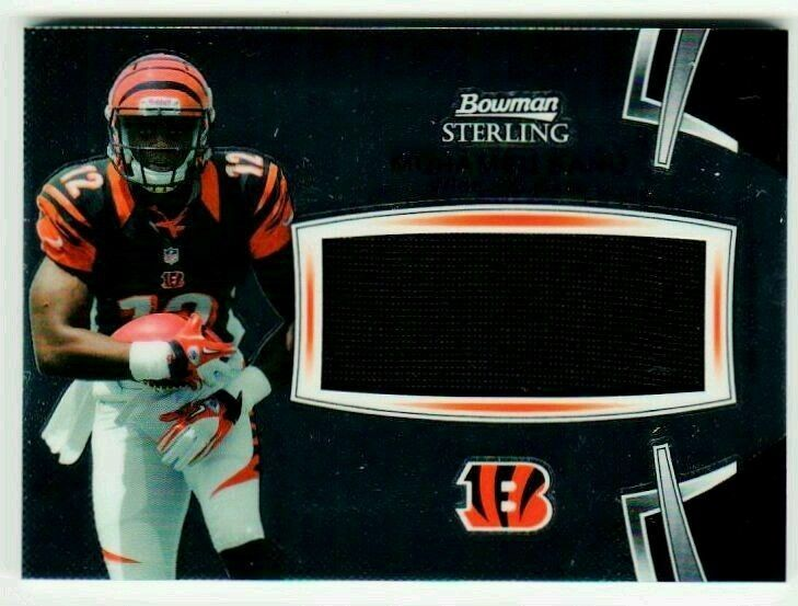 newest collection ad949 7c761 NFL 2012 Bowman Sterling Mohamed Sanu Jersey MNT