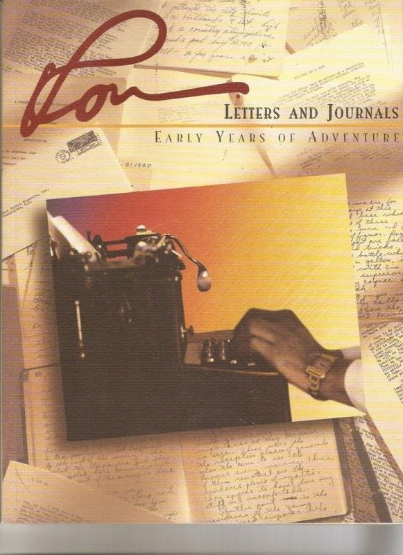ron letters and journals ron hubbard issac hayes estate personal