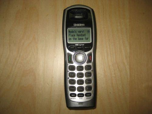 uniden tru 9485 4wx remote handset cordless expansion telephone rh unisquare com