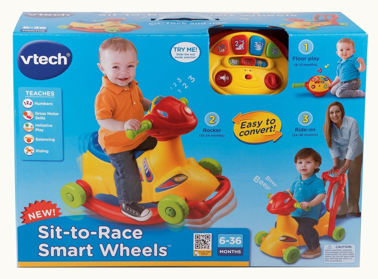 Vtech Sit To Race Smart Wheels Ride On For Sale Item