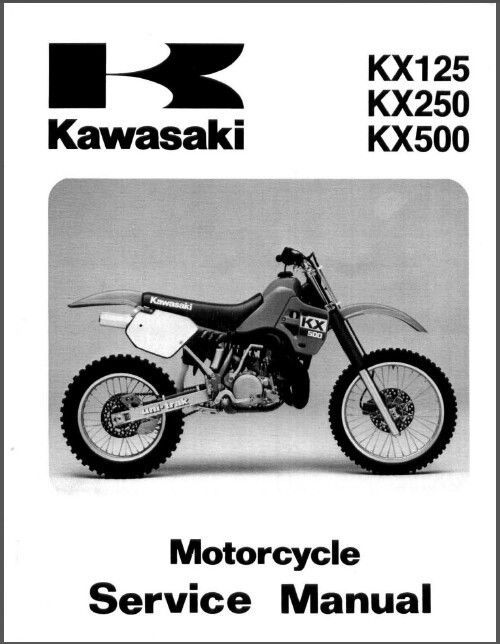 1988 2004 kawasaki kx125 kx250 kx500 service repair manual cd kx rh unisquare com 2001 kx 125 shop manual 2001 kx 125 service manual pdf