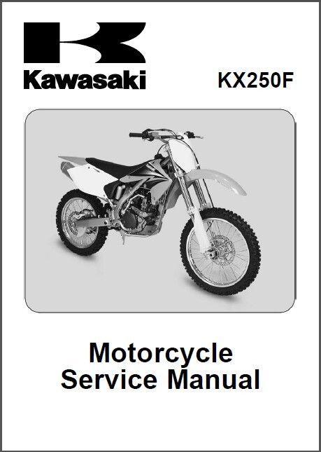 kawasaki kx250 full service repair manual 2003 2005