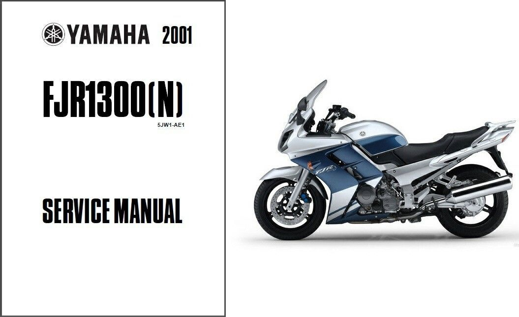 2001 12 yamaha fjr1300 service repair workshop owner 39 s. Black Bedroom Furniture Sets. Home Design Ideas