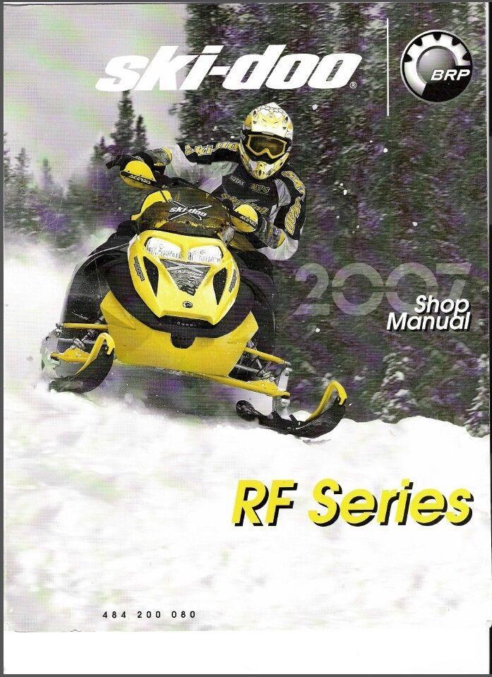 2007 Ski Doo RF Snowmobiles Service Repair Manual CD Expedition Freestyle Tundra