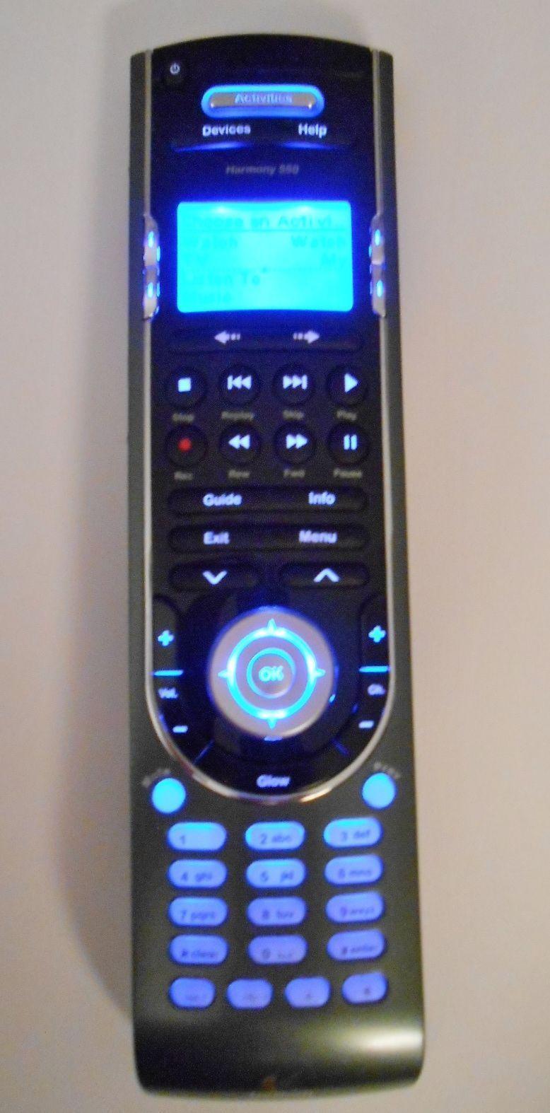 logitech harmony 550 remote control universal home multi system rh unisquare com Logitech Harmony 550 Programming Logitech Harmony 550 Programming